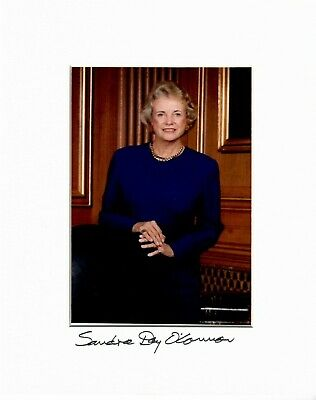 Sandra Day O'Connor Signed Photograph