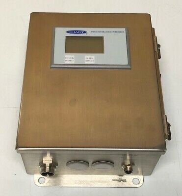 Chart Phase Separator Controller, stainless steel