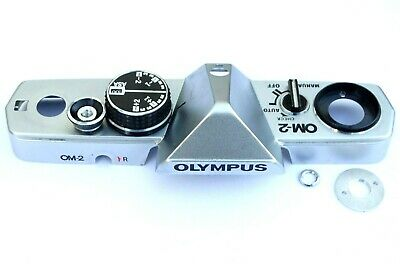 Olympus OM-2 Camera Top plate (Chrome) - Cleaned and Checked