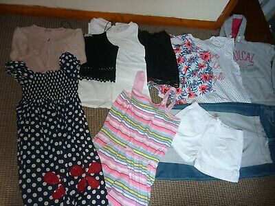 Bundle Girls Clothes age 11-12yrs Next  Shorts Tops Jeans Dress Hoodie Cardigan