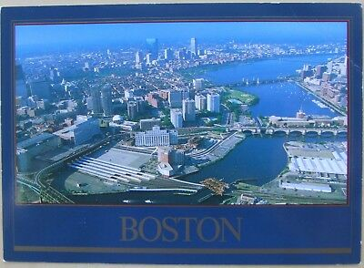 Boston from the Charles River postcard
