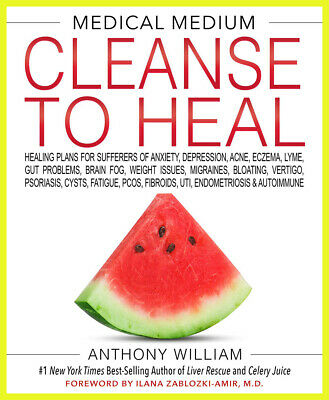 Medical Medium Cleanse to Heal: Healing Plans for Sufferers ..  (E-version)📩📕