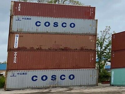 USED 40 FOOT SHIPPING CONTAINER-cconex, wind and water tight!