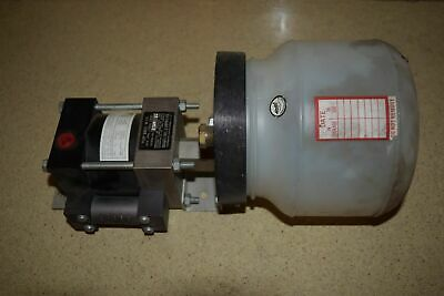 <Rt> Haskel Eng & Supply Co Pump Model M-110