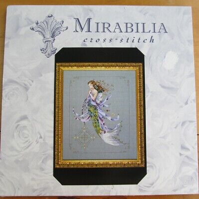 MIRABILIA Cross Stitch PATTERN ONLY MD71 Shimmering Mermaid