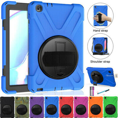 Hybrid Protective Rugged Hard Stand Case Cover Fr Samsung Galaxy Tab A 2019 P200
