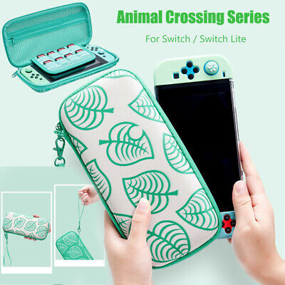 Animal Crossing Carrying Case Bag Console Card Storage For Nintendo Switch /Lite