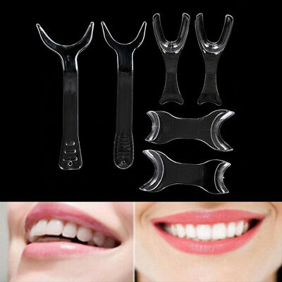 6pcs Dental Lip Retractor Orthodontic Double-Head Mouth Opener Photography RC