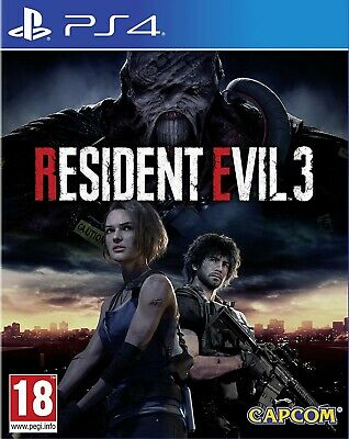Resident Evil 3 Remake Ps4 Gioco Nuovo Sigillato Italiano Sony Playstation 4