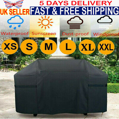 S/M/L BBQ Cover Heavy Duty Waterproof Rain Gas Barbeque Grill Garden Protector