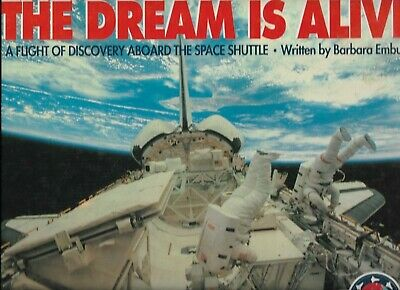 Astronaut Sally Ride. Ph. D. Signed Book, The Dream is Alive. First Edition.