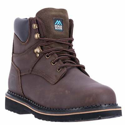 McRae 6 inch Soft Toe  Casual   Work & Safety - Brown - Mens