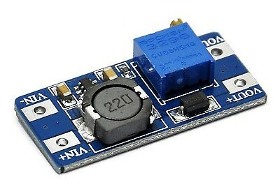 Módulo Dc Mini Step Up 2A Convertidor Ajustable MT3608 Alimentación Arduino