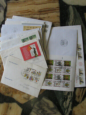 081086 DDR FDC First Day Cover `s - Lot