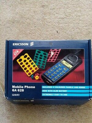 Ericsson GA628 Mobile Phone Boxed With Charger & accessories