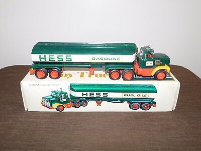 Vintage Toy 1977 Hess Toy Truck In Box Lights Work..nice Condition