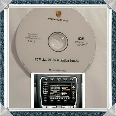 PORSCHE  2015 PCM 2.1 DVD Navigation Europe.