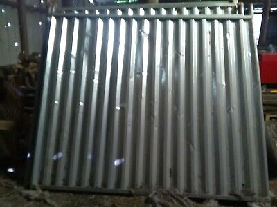 Steel Hoarding - Soild Temporary Fencing Panels - Site security - Used