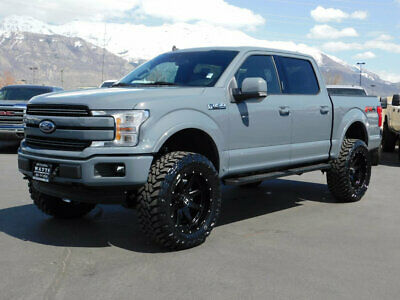 2020 Ford F-150 LARIAT FX4 LIFTED FORD CREW CAB LARIAT SPORT 4X4 ECOBOOST LEATHER SUNROOF NAV WHEELS TIRES