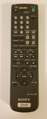 Sony RMT-D108A DVD Remote Control