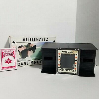Automatic Battery Operated 1-4 Deck Card Shuffler (H)
