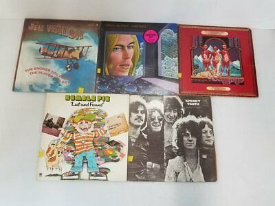 5x Assorted Pop/Rock Vinyl Records Spooky Tooth Humble Pie Walsh Allman +++