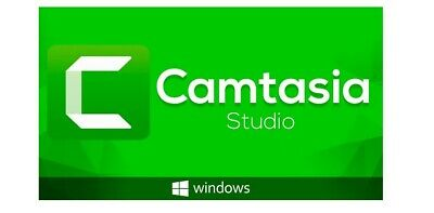 Techsmith Camtasia Studio 2019 ✔️ Latest Version Lifetime Activation ✔️ Windows