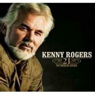 KENNY ROGERS 21 Number Ones (CD, Jan-2006, Capitol/EMI Records) CD NEW
