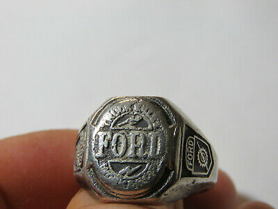 Ford Truck Sales Workshop Award Ring