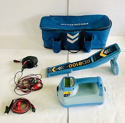 SPX Radiodetection RD8100 PDL Utility Locator & TX-10 Pipe & Cable Locator
