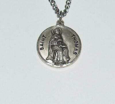 St Thomas License Plate Textured 925 Sterling Silver Travel Charm Pendant