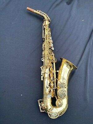 Buescher 400 Alto Sax made in USA Saxophone Just Serviced No Reserve