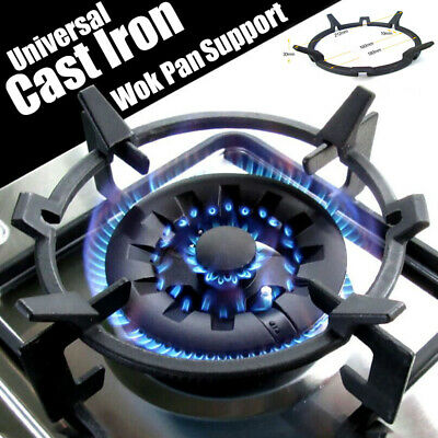 Universal Cast Iron Wok Pan Stand Support Tool Ring For Gas Burners Hobs Cooker