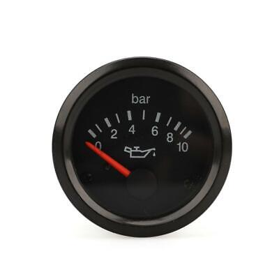 Universal 2 Inch (52Mm) Oil Pressure Gauge For Vdo Car Instrument Machinery