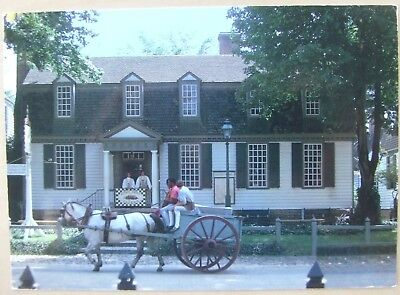 King's Arms Tavern Williamsburg Virginia postcard