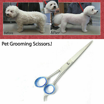 """6"""" Pet Dog Grooming Trimmer Kit Tool Professional Hair Cutting Scissors"""