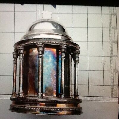 Very Rare Antique Nickle Plate Silver. Ice Bucket / Wine Cooler / Tea Caddy