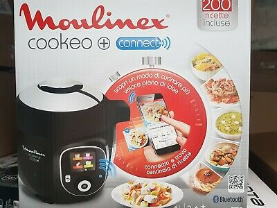 MOULINEX CE857800 Cookeo+ Connect 6L - 200 preprogrammed recipes
