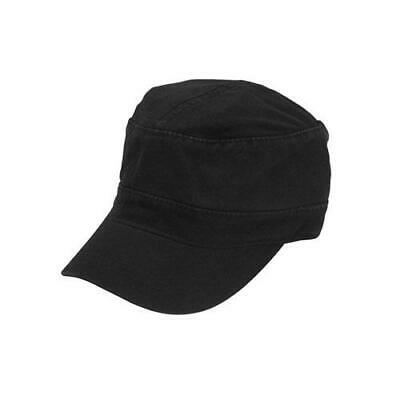 Chef Works - HC007-BLK - Black Military Cap