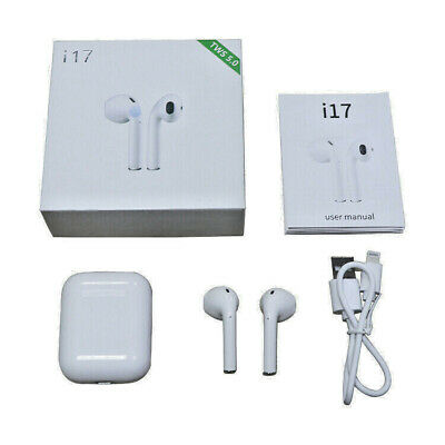Auricolari Bluetooth Senza Filo Cuffie Wireless Modello I17 Per Apple & Android