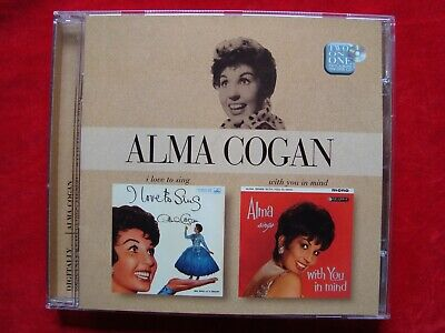 Alma Cogan- I Love To Sing/ With You In Mind UK CD on EMI Records from 2003