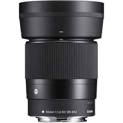 Sigma 30mm f1.4 DC DN Contemporary Lens for Canon M-Mount
