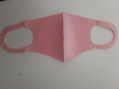 Pink Face Covering Mask Breathable Washable Reusable Same Day Dispatch