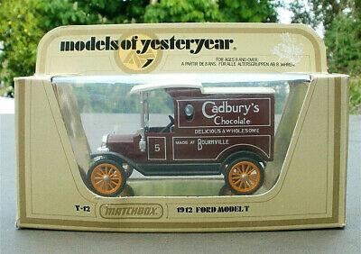 Matchbox  Models Of Yesteryear Code 3 1912 Ford Model T Cadbury's  Bournville