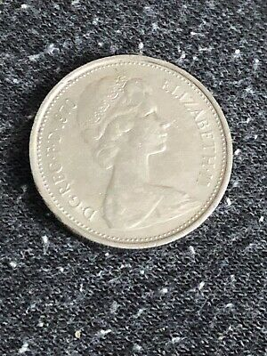 LARGE 5p FIVE PENCE COINS - 1970 - BRITISH COIN -