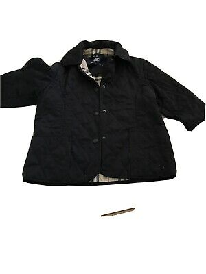 Girls Quilted Burberry Jacket age 10