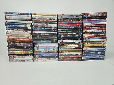 200+ used DVD LOT all genre movie (5/21 A1)