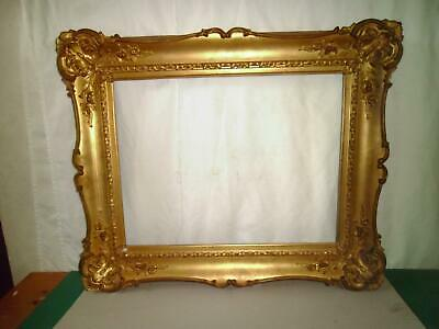 Large C18Th Antique Giltwood  Picture Frame Holds 46.8 Cm X 36.4Cm Picture