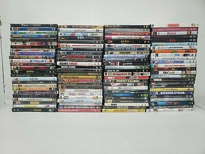 200+ used DVD LOT all genre movie (5/21 A2)