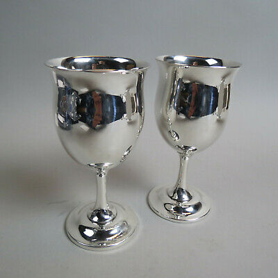 2 Reed & Barton Sterling Silver Goblets